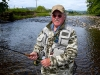 Mike Harding on the Ribble