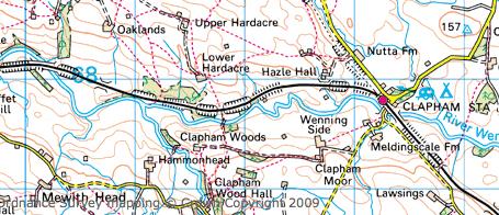 Clapham Map